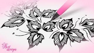 Nas Designs Tutorial 11: Floral Design