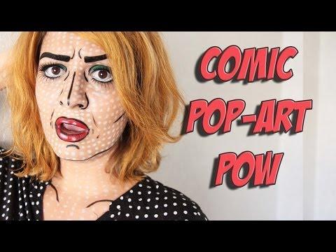 Comic book makeup