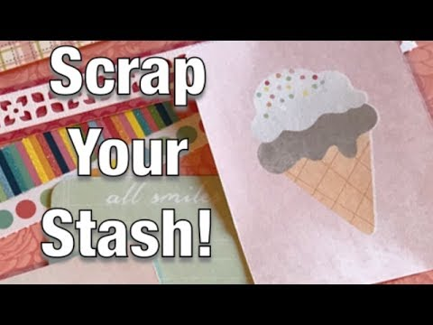 Scrapbook Ideas - Scrap Your Stash