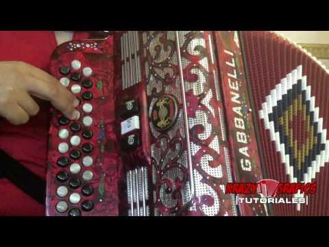La troca del mono negro - Los Originales de San Juan (instruccional de acordeon de botones)
