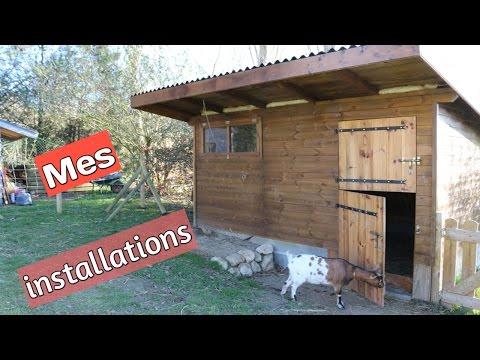 Les installations pour avoir des chèvres chez soi