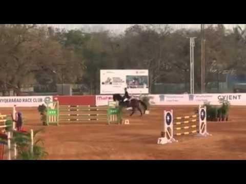 India's First Teenage National Show Jumping Champion 19 Years  - 1.50 Class - Cherokee