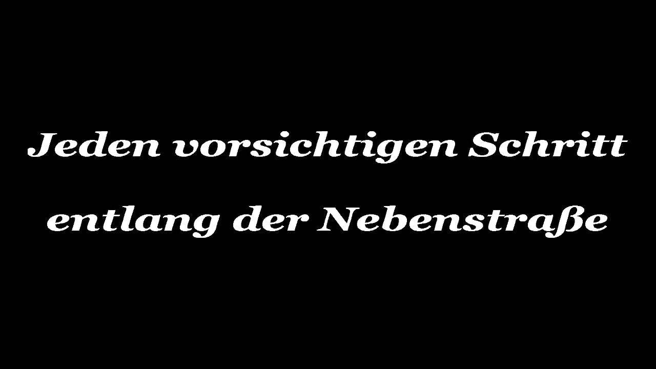 my way übersetzung deutsch