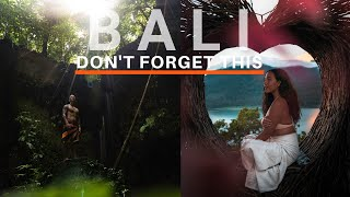 NOT TO Bring And TO BRING To Bali, Indonesia (Watch This Before You Travel To Bali ) 🇮🇩