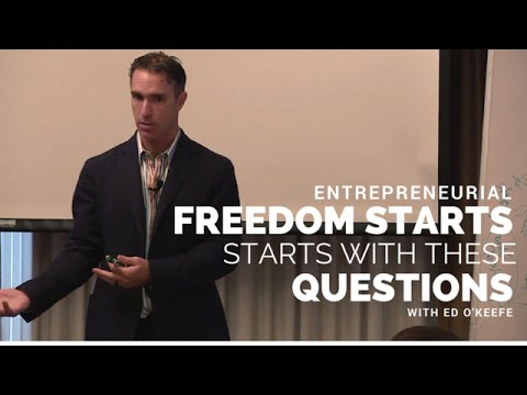 Entrepreneurial Freedom Starts With These Questions