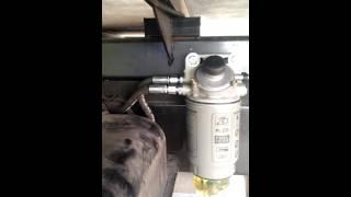 Дополнительный топливный фильтр на некст