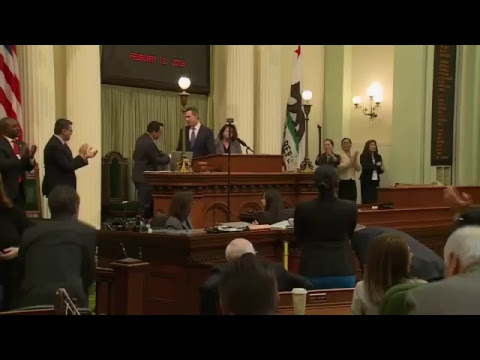 Gov. Gavin Newsom 1st State of the State Address