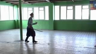 120317 Казачий сполох  Щербаков Дмитрий 15 лет   фланкировка II место