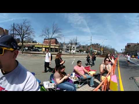 LG 360 Cam at the Boston Marathon