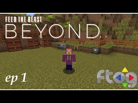 "FTB Beyond Ep 1 ""New FTOG Public Server #HYPE!"""