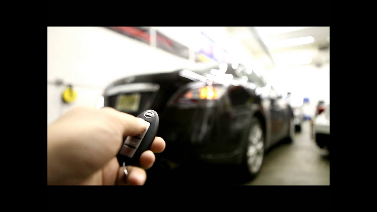 Prime Motoring 2014 Nissan Maxima Remote Start Youtube