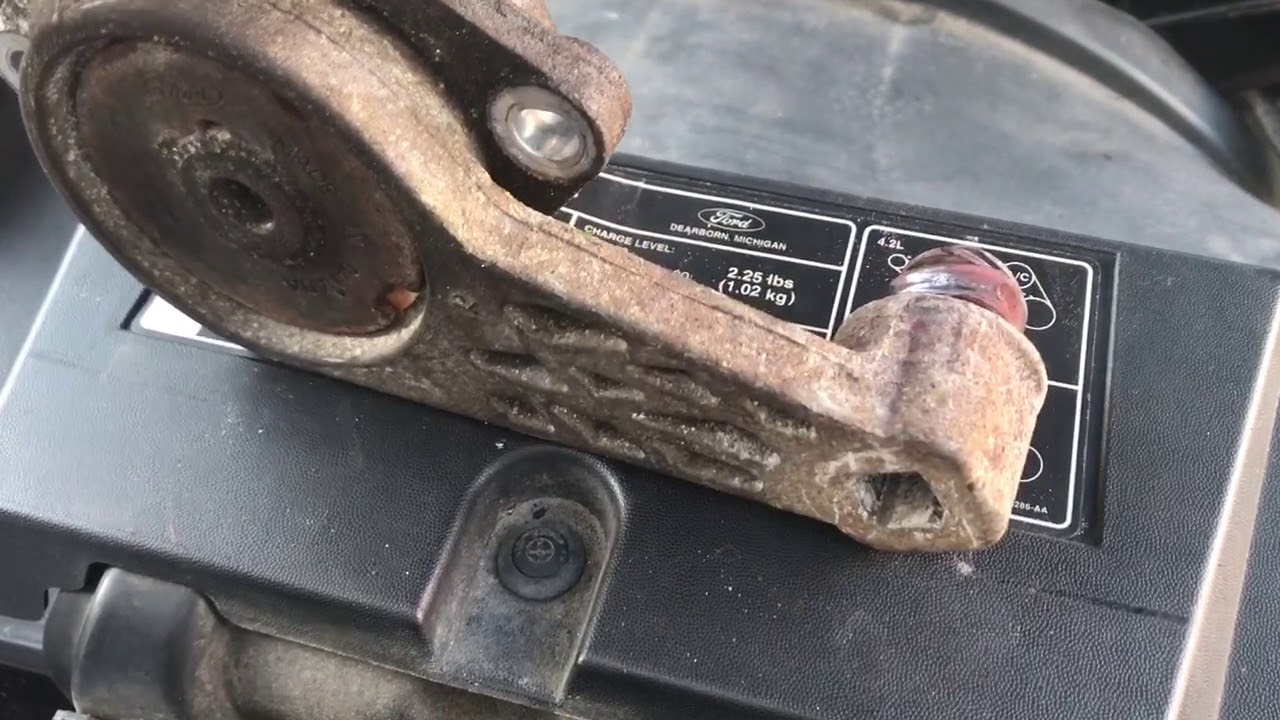 2004 2008 Ford F 150 Tension Pulley Repair Replacement Fix