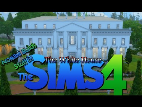 Buliding The White House | The Sims 4 Speed Build