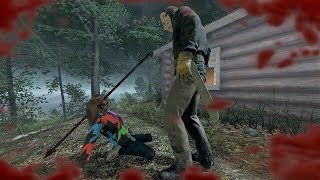 MIRA MI ENORME LANZA! - FRIDAY THE 13th: THE GAME