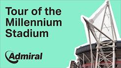 Sam Warburton gives a tour of the Millennium Stadium