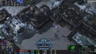Finał Dreamhack - Nerchio vs MarineLord g2- Starcraft 2 HD Polski komentarz