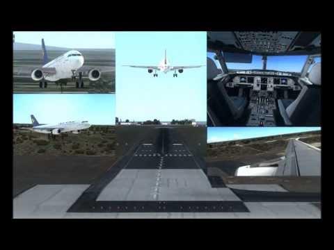 (FSX Film HD) Airone Volo AP115 Malpensa - Bari