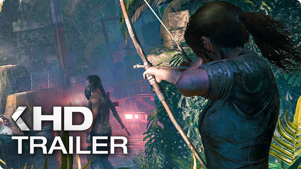 SHADOW OF THE TOMB RAIDER Gameplay (E3 2018)