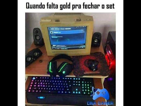 MEMES EM IMAGENS GAMES #32 QUANDO FALTA GOLD