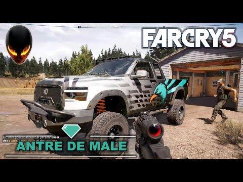 FAR CRY 5 Antre de Mâle / Kimberlite TCZ - Cache de Survivaliste (John)