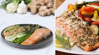 3 One-Pan Salmon Dinners