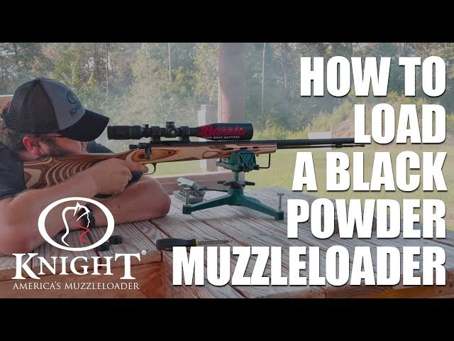 Muzzleloaders Quick Tip - Loading Your Knight Muzzleloader