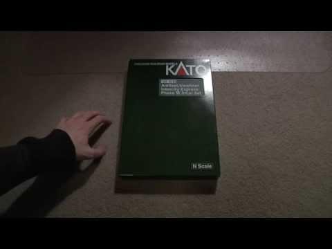 Review: Kato N Amfleet & Viewliner Phase VI 3-Car Set
