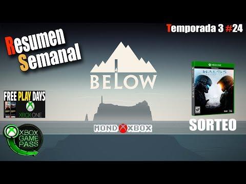 Resumen Semanal T3#24 Below,Game Pass, Monster Hunter, Novedades, ofertas, Noticias |MondoXbox thumbnail