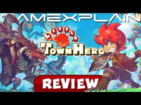 Little Town Hero - REVIEW (Switch)