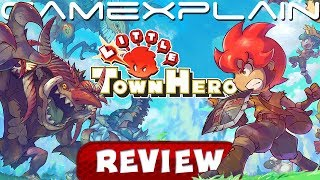 Little Town Hero - REVIEW (Switch) (Video Game Video Review)