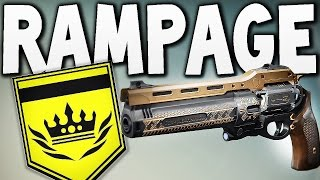 Destiny - PVP LAST WORD RAMPAGE !!!