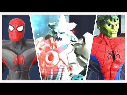 Spiderman y Hulk Super Heroes Luchan en el Reino de Loki|Juegos para Niños