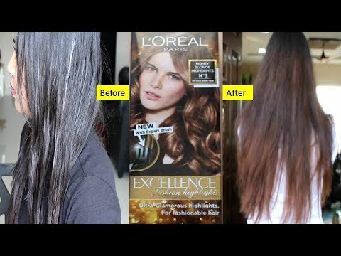 First Impressions Loreal Excellence Fashion Highlights Did It Work Makeup Topics