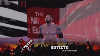 WWE 2K15 - Roman Reigns Vs. Batista - Extreme Rules Match