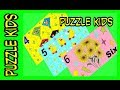 NUMBER FOUR FIVE SIX- Kids Learn NUMBERS - Kids Counting with Puzzles  - Puzzle Video Games For Kids