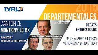 Départementales 2015 – Les débats du second tour – Canton de Montigny-le-Bretonneux
