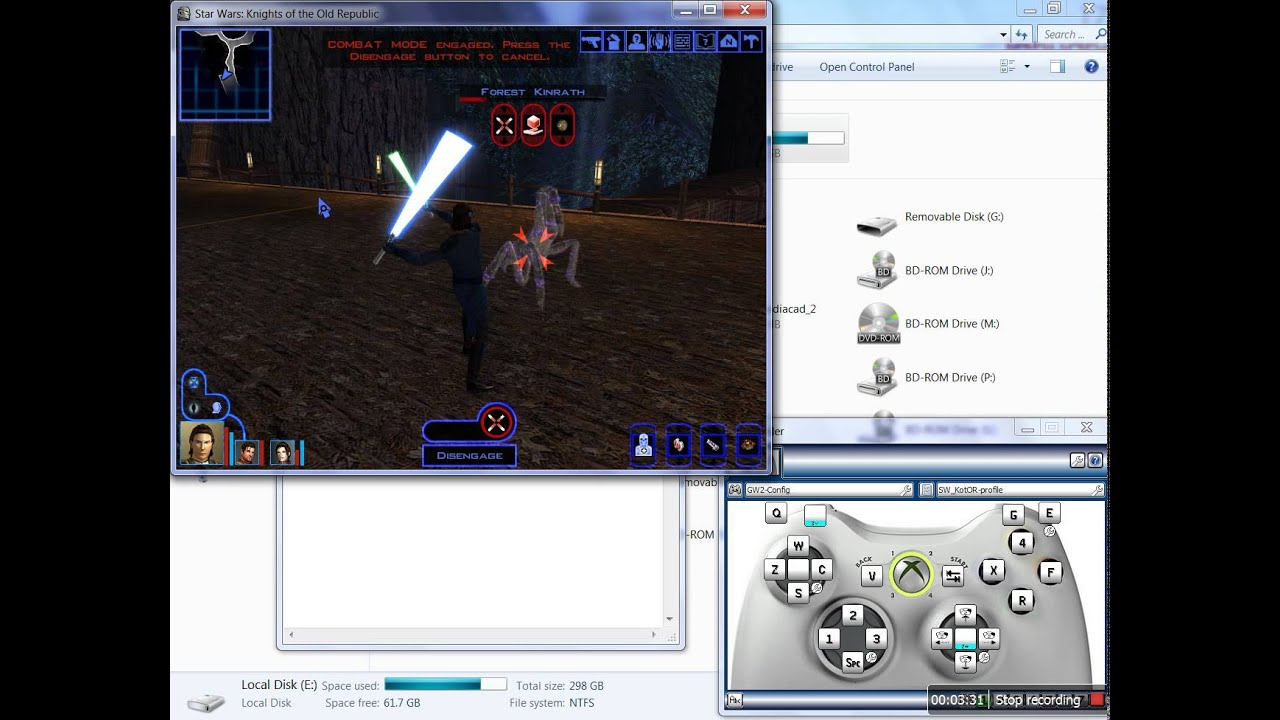 Star Wars: Knights of the Old Republic 1 [Gamepad Support]
