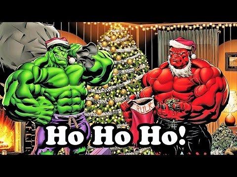 Marvel Super Hero Adventures Frost Fight Hulk Sings a Christmas Carol- 720p HD