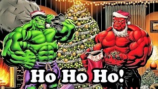 Marvel Super Hero Adventures Frost Fight Hulk Sings a Christmas Carol- 720p HD