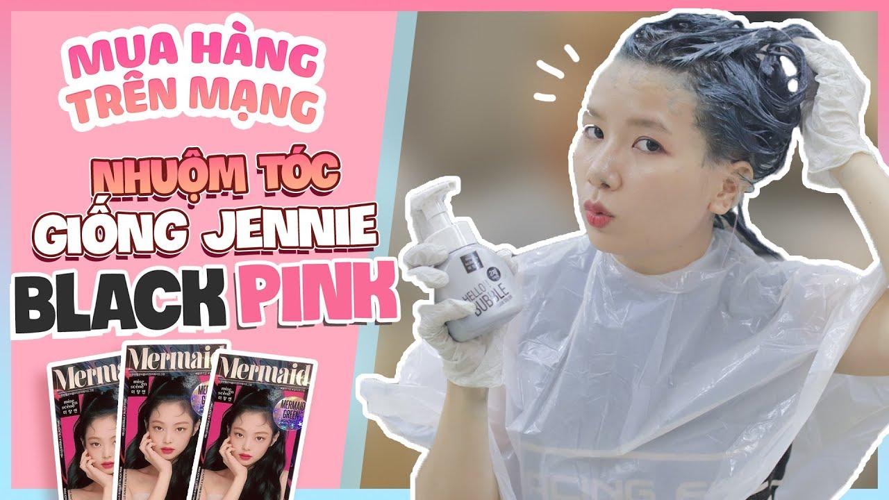 Mel TV Đổi Màu Tóc Lần Thứ 3 Trong 30 Ngày Với Dầu Gội Nhuộm Hàn Quốc Jennie BLACKPINK