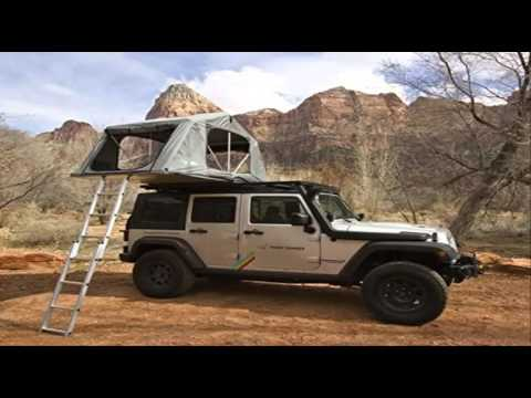 Hannibal Impi Roof top tent Demonstration