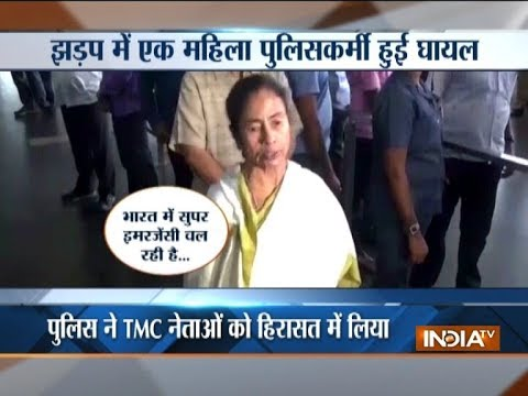 Assam: TMC MLA Mahua Moitra clashes with female constable at Silchar airport