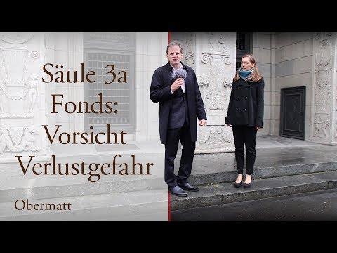 Säule 3a Fonds: Vorsicht Verlustgefahr