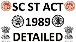 MPPSC SPECIAL SC ST ACT 1989 FULL DETAILED Explanation