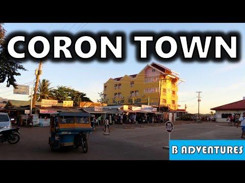 Coron Town Proper Palawan Philippines S4, Vlog 63
