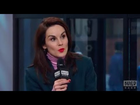 "Michelle Dockery Discusses ""Downton Abbey: The Exhibition"" & Her Netflix Series, ""Godless"""