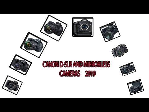 CANON CAMERAS 2019 || ALL CANON MODELS 2019