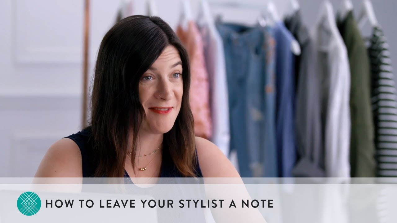 f71e4494b66 How to Leave Your Stitch Fix Stylist a Note - YouTube