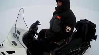 обзор снегохода Тайга Варяг 500- пробег 2700 км и новый Варяг 550 s-на обкатке.+ рыбалка судак