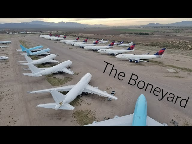 Hundreds of airliners ABANDONED in the desert!